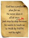 god has a perfect plan