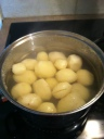 new potatoes for gravy train