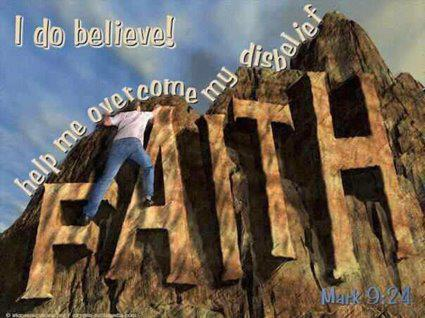faith...i do believe