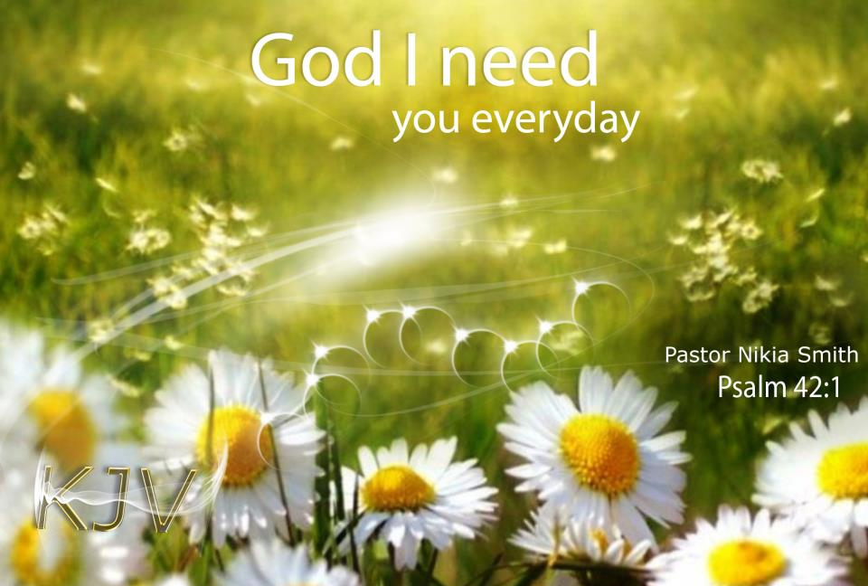 god i need you everyday2