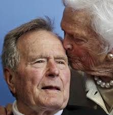 President Bush and barbara