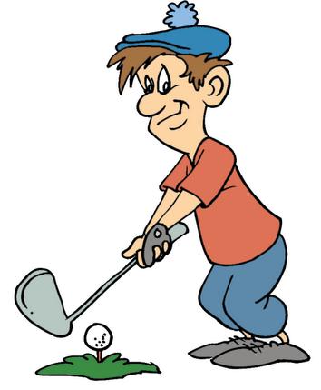 golfer improves game