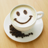 smiley face coffee